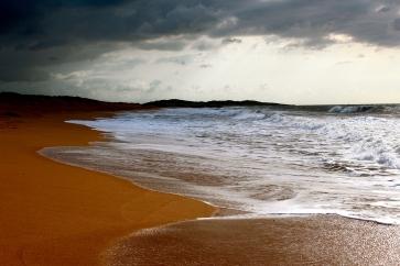 Adrift Upon A Crimson Shore